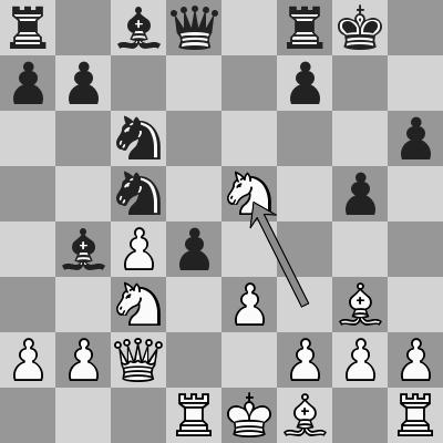 Bai Jinshi-Ding Liren dopo 15. Cxe5
