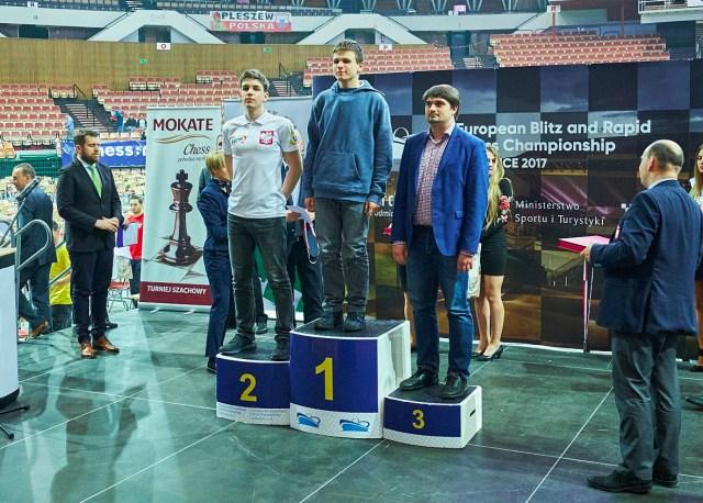 EBRCC2017 Rapid podium