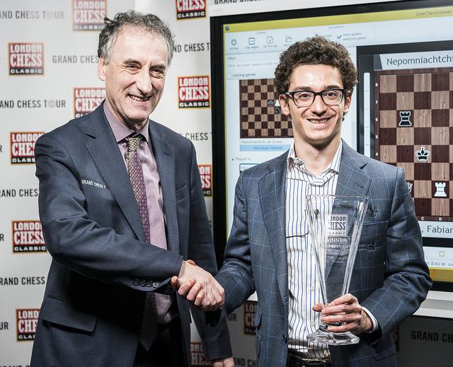 LCC2017 - Malcolm Pein premia Caruana