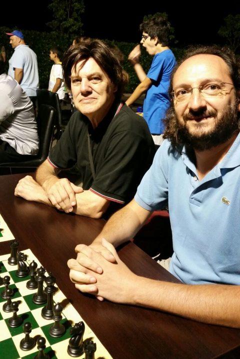 Sergio Mariotti e Carmine De Lisa, resp. Circolo QT Roma Eur-Torrino