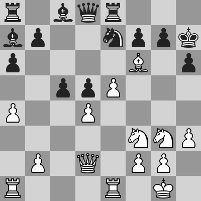 Anand-Leko, Rapid 2° turno, dopo 21. ... Rh7