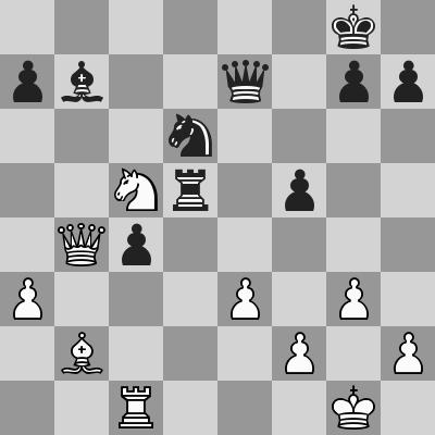 Carlsen-Anand, Rapid 9° turno, dopo 33. Cc5