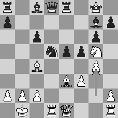 Carlsen-Jones, WaZ 2018, R8 dopo 17. g4