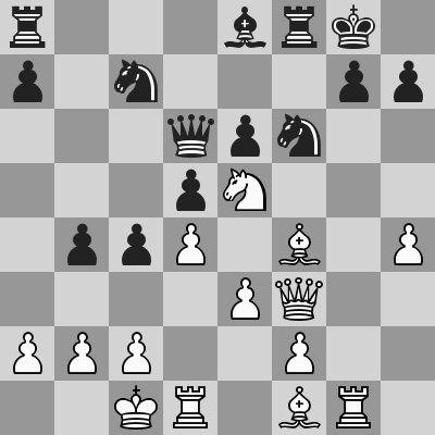 Jobava-Le Quang Liem, Rapid 8° turno, dopo 19. ... Dxd6