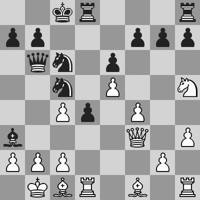Karjakin-Esipenko, Rapid 8° turno, dopo 18. Df3