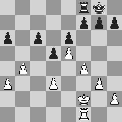 Nepomniatchichi-Wang Hao, Blitz 13° turno, dopo 23. ... bxc6