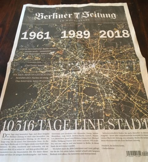 Berliner Zeitung, 5 Febbraio 2018