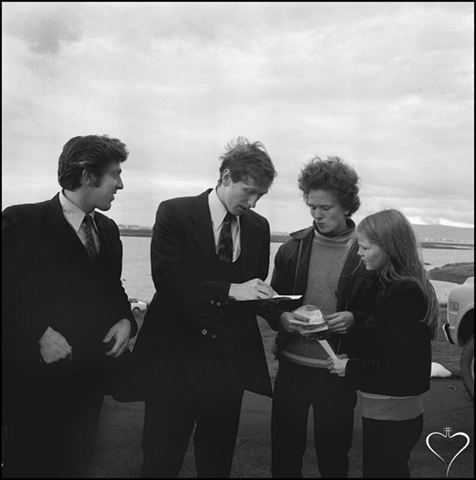 Fischer in Iceland, 1972 (Olaf Magnusson)