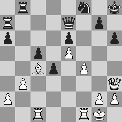 Fischer-Spassky (6) 1972 dopo 25. b3