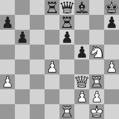 Gupta-Ivanchuk, R8, dopo 28. ... Td8