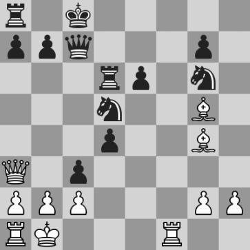 Nakamura-Carlsen FR(15) dopo 19. ... c3