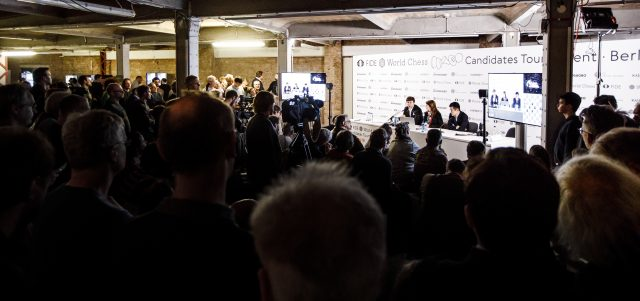 Candidates 2018 - Conferenza stampa di Karjakin e Ding Liren