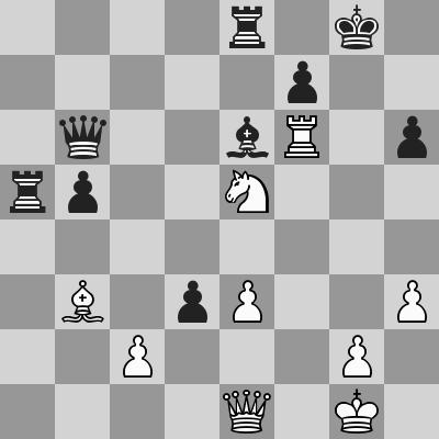 Candidates 2018 - R10, Kramnik-Aronian dopo 28. Txf6