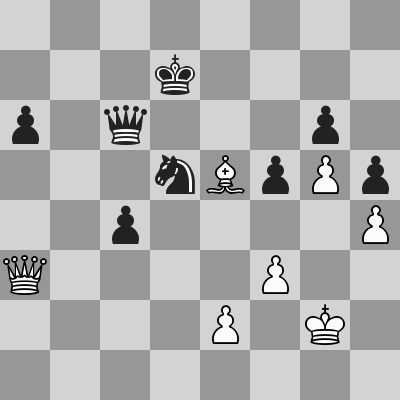Candidates 2018 - R11, Aronian-Karjakin dopo 50. ... Dc6