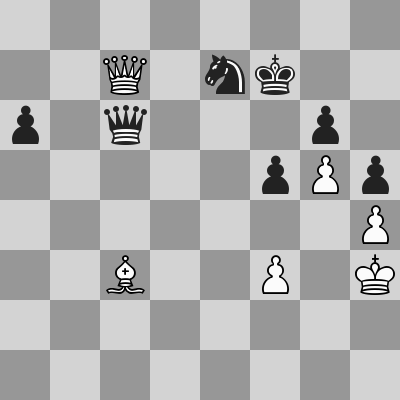 Candidates 2018 - R11, Aronian-Karjakin dopo 58. ... Dc6