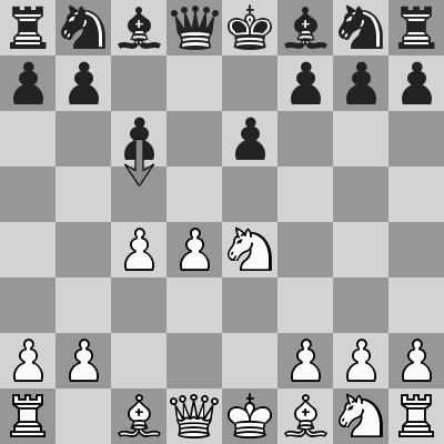 Candidates 2018 - R11, Caruana-Kramnik dopo 5. Cxe4