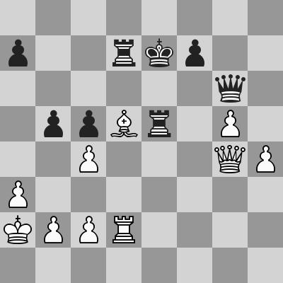 Candidates 2018 - R12, Karjakin-Caruana dopo 38. ... b5