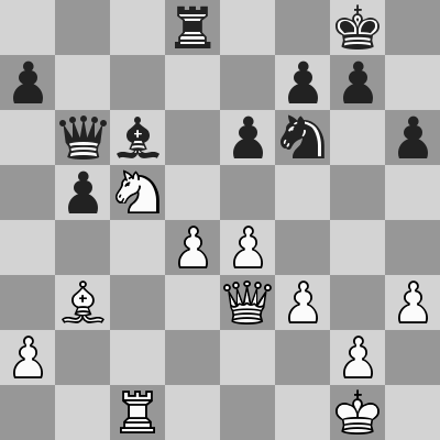 Candidates 2018 - R12, Mamedyarov-Ding Liren dopo 26. ... Td8