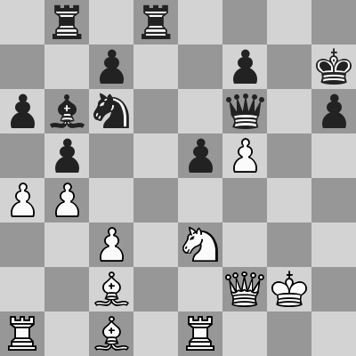 Candidates 2018 - R13, Caruana-Aronian dopo 31. Dxf2