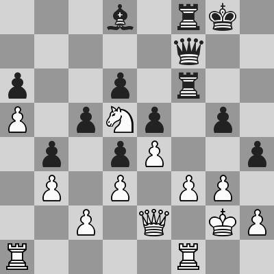 Candidates 2018 - R14, Karjakin-Ding Liren dopo 27. Cd5