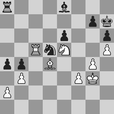 Candidates 2018 - R9, Caruana-Ding Liren dopo 44. ... Rh7