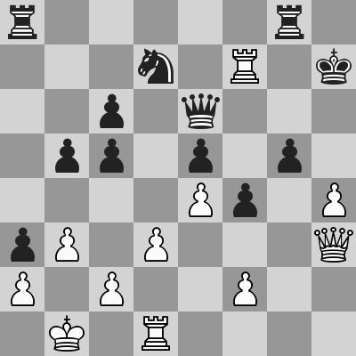 Anand-Grischuk, Rapid R8, dopo 28. Txf7+!!