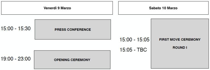 Candidates 2018 - Media events