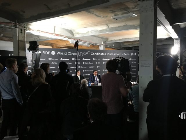 Candidates 2018 - Press Conference