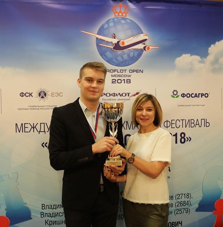Kovalev e Sorokina Aeroflot 2018