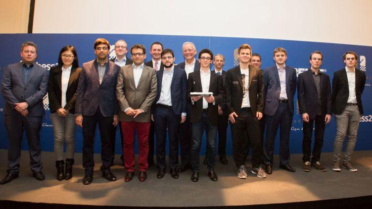 Grenke 2018 - Giocatori e organizzatori