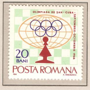 114 - Ajedrez-Chess Tomo-Volume I - Romania - 1966 - 1
