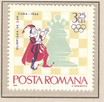 119 - Ajedrez-Chess Tomo-Volume I - Romania - 1966 - 6