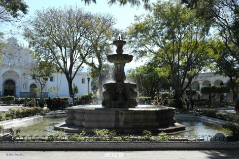 Central Parc of Antigua Guatemala