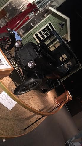 Model T at Pink Palace