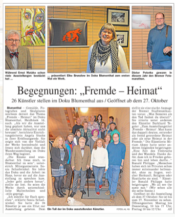 BLV Heimat Fremde Presse AS