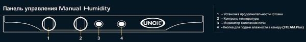 Печь пароконвекционная UNOX XFT193 Rosella