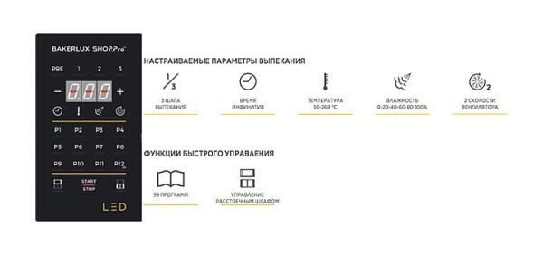 Печь пароконвекционная UNOX XEFT-10EU-ELRV