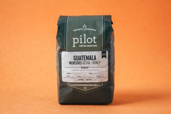 Guatemala Gesha-Honey Processed Coffee Bag (Front View)