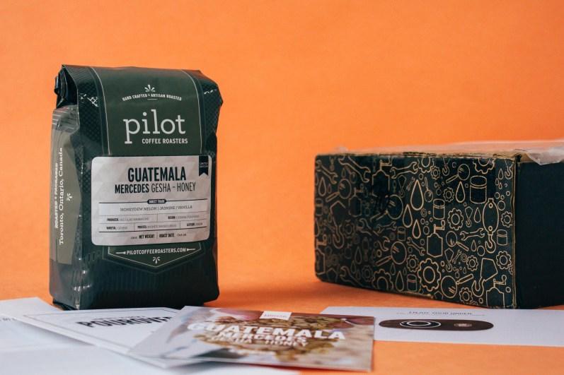 Guatemala Gesha-Honey Coffee by Pilot Coffee Roasters