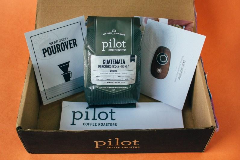 Pilot Coffee Roasters Detailed Packaging