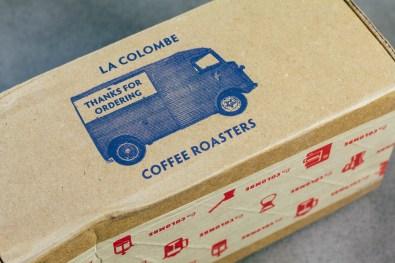 Friendly Little Box La Colombe Coffee Comes In