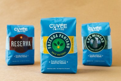 Three Different Blends of Cuvée Coffee