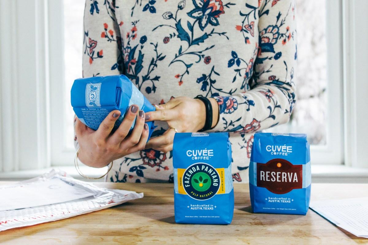 Cuvee Coffee and Flower Shirt