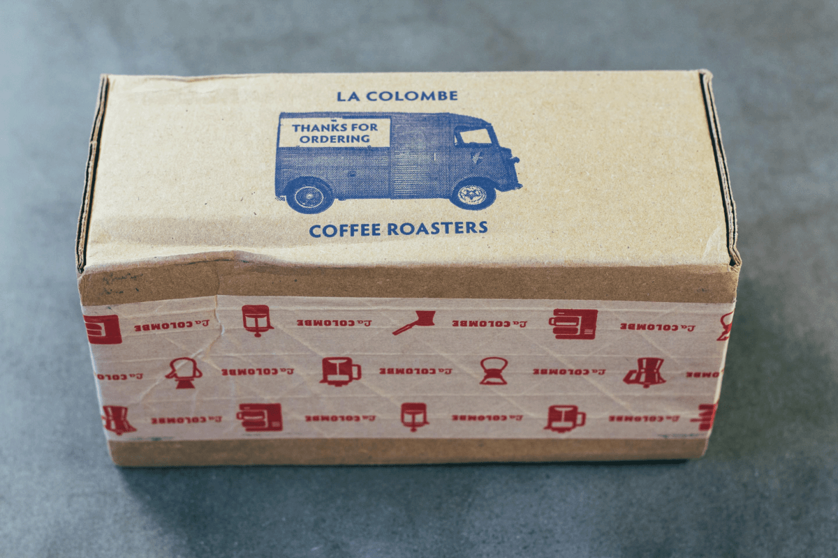La Colombe's friendly packaging design.