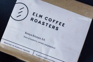 Elm Coffee Roasters Smooth and Simple Design