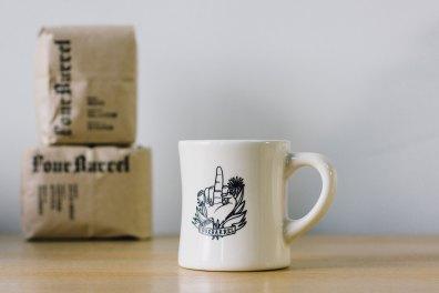 Four Barrel Coffee Mug
