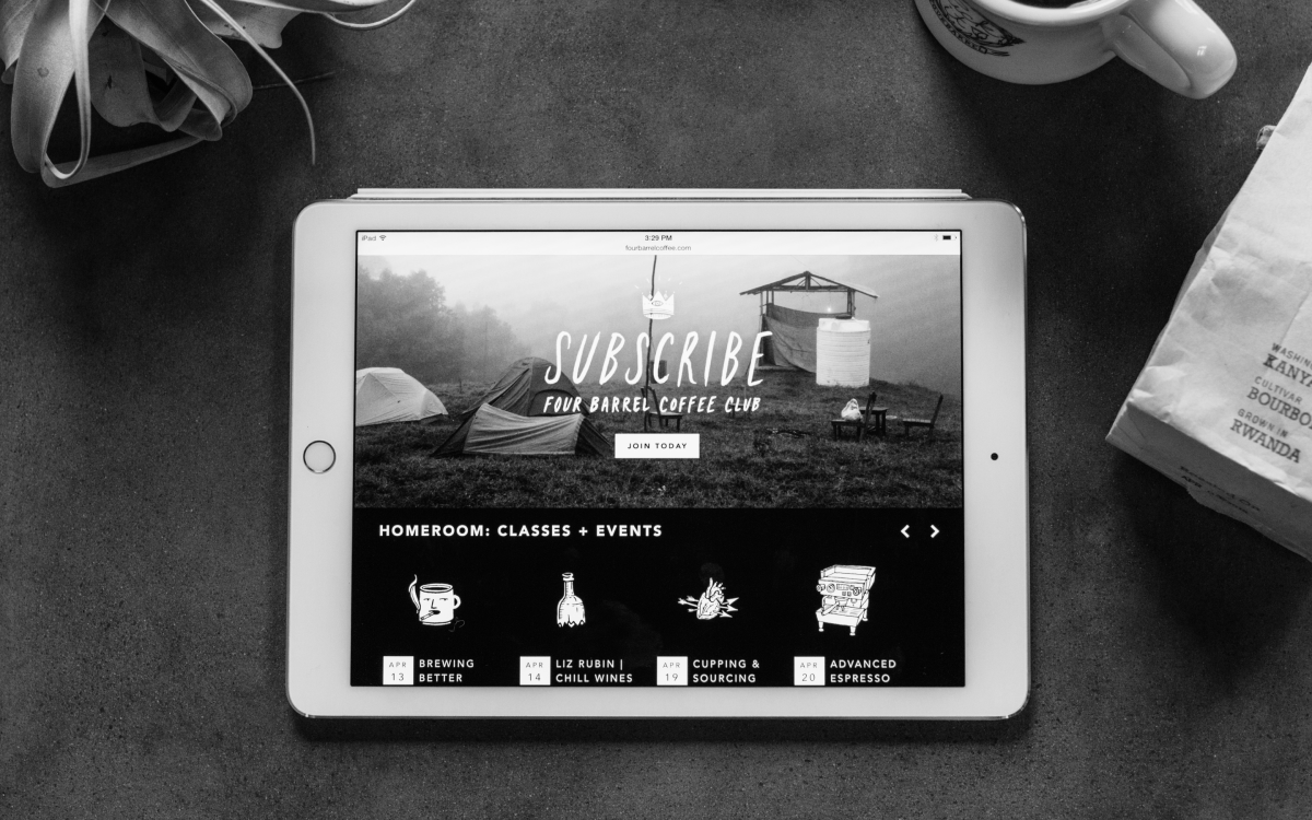 Four Barrel website