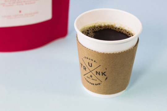 Trunk Coffee Cup Cozie