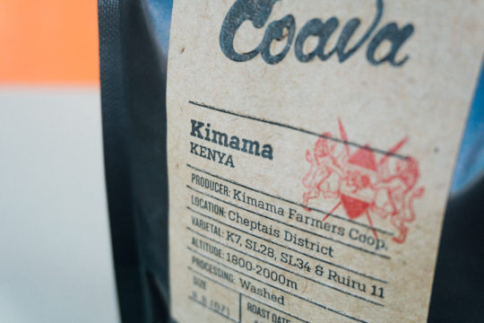 Kimama Label Cropped