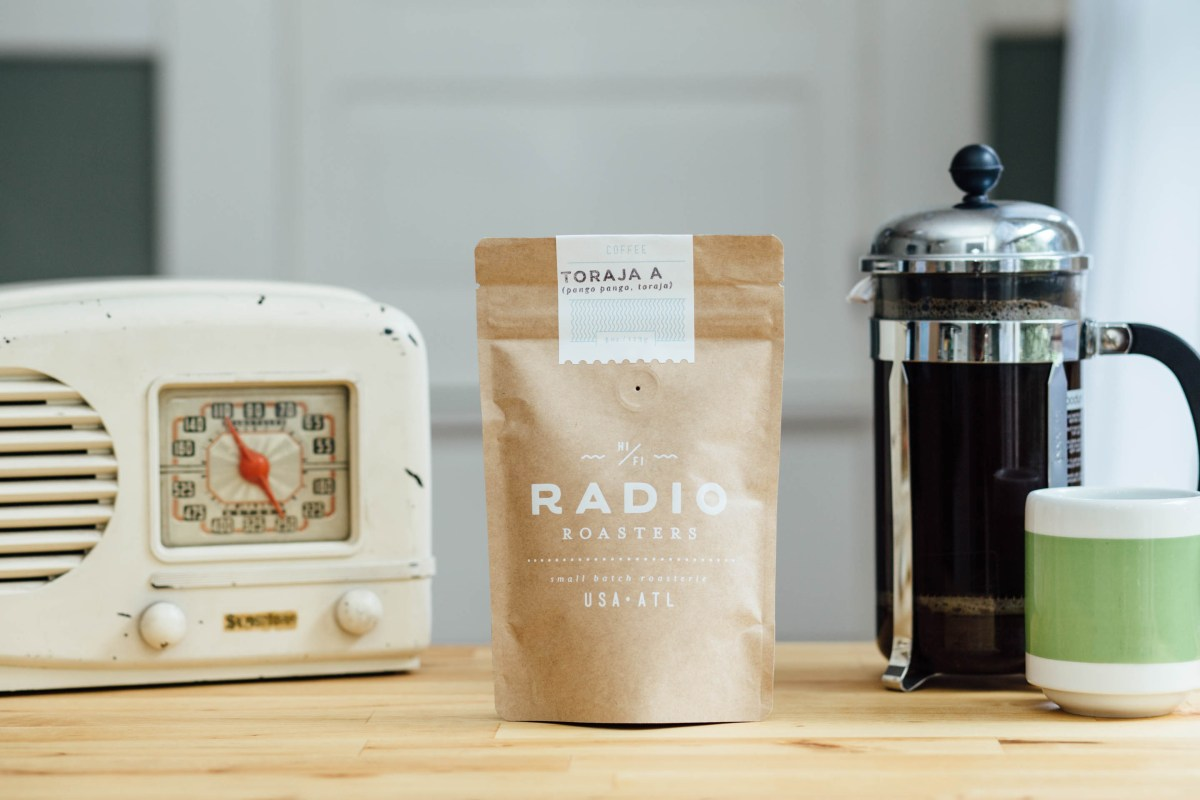 Vintage Radio with Radio Roasters